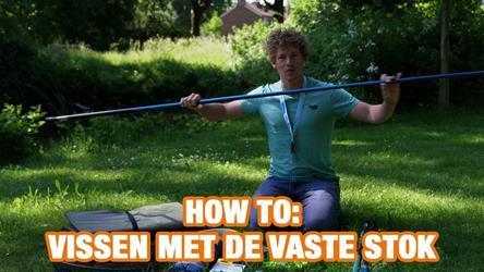 How To: Vissen met de vaste stok (video)